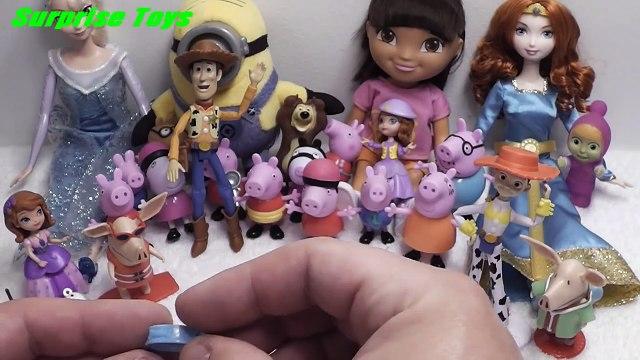 Olivia, Me2, Dora the Explorer, Peppa Pig, Frozen, Маша и Медведь, Disney, Frozen Toys, Peppa
