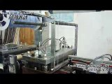 automatic blister forming cutting stacking machine, making pvc bubbles
