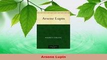 Download  Arsene Lupin EBooks Online