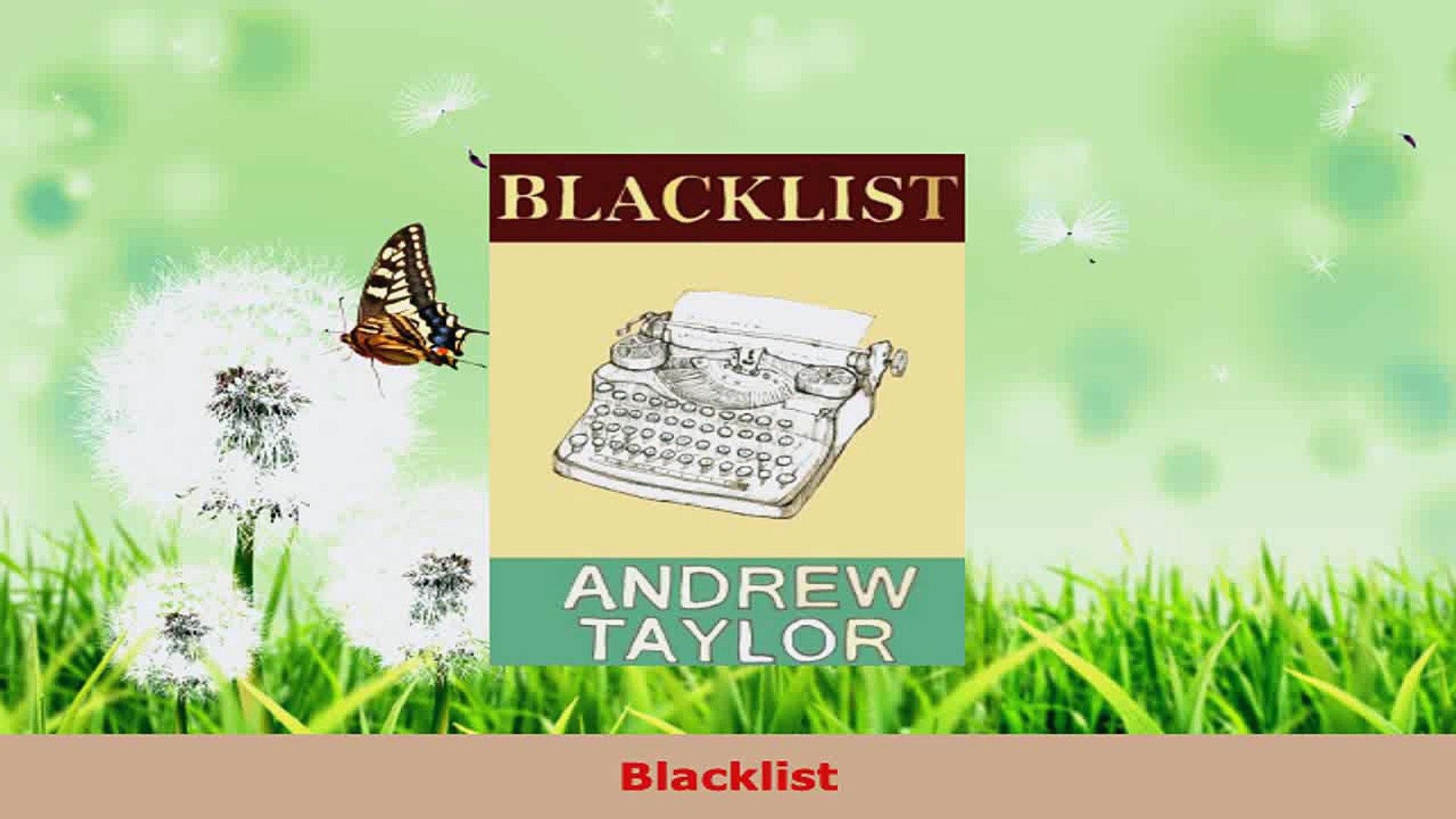 Download  Blacklist PDF Online