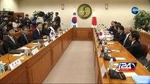 """Accord historique sur les """"femmes de réconfort"""" entre le Japon et la Corée du Sud"""