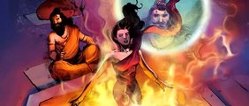 Shiva-The Legends Of The Immortal-Book I Promo Comic Motion Trailer Vimanika Comics