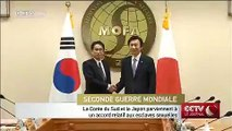 La Corée du Sud et le Japon parviennent à un accord relatif aux esclaves sexuelles