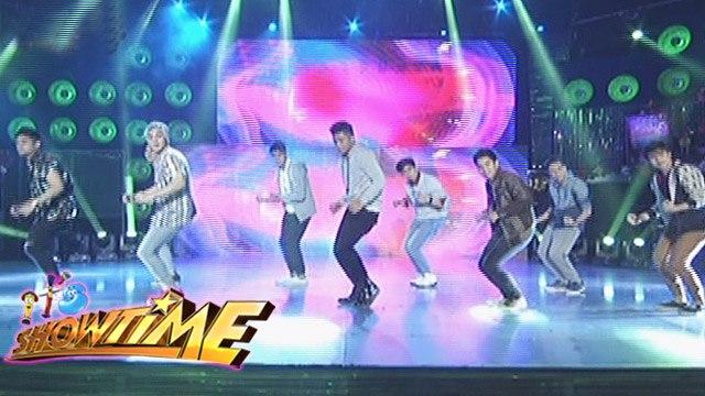 "It's Showtime Hashtags: Hashtags' ""Uptown Funk"" dance performance"