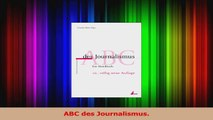 Read  ABC des Journalismus Ebook Free