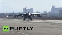 Syrie : l'armée de l'air russe continue les bombardements sur les positions terroristes