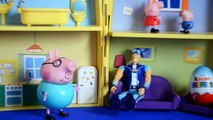 sportacus Peppa Pig Episode Lazy Town Sportacus Special Kinder Surprise Egg Story AMAZING