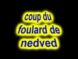 Image de 'coup du foulard de Nedved'