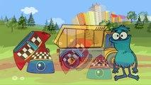 Lehrreicher Cartoon - Sammy Witzbold baut eine Rakete - Suchspiel