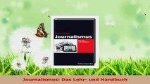 Download  Journalismus Das Lehr und Handbuch Ebook Online