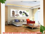 3 Piece Oriental Art Zen Tranquility Painting Split Canvas Picture of Art Wall Canvas Artwork