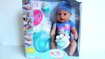 Boy Baby Doll Change Diaper Pee Baby Born Dolls How to Bath and Feed Your Baby Doll