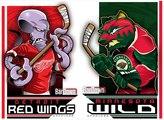 NHL - Detroit Red Wings @ Minnesota Wild - 28.12.2015