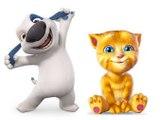 Rain Rain Go Away | Nursery Rhyme| Classic Rhymes By Funny Cats Talking Hank & Ginger