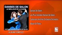 Cantovano and His Orchestra - Les Plus Grandes Danses de Salon - 28 Succès - Album Complet