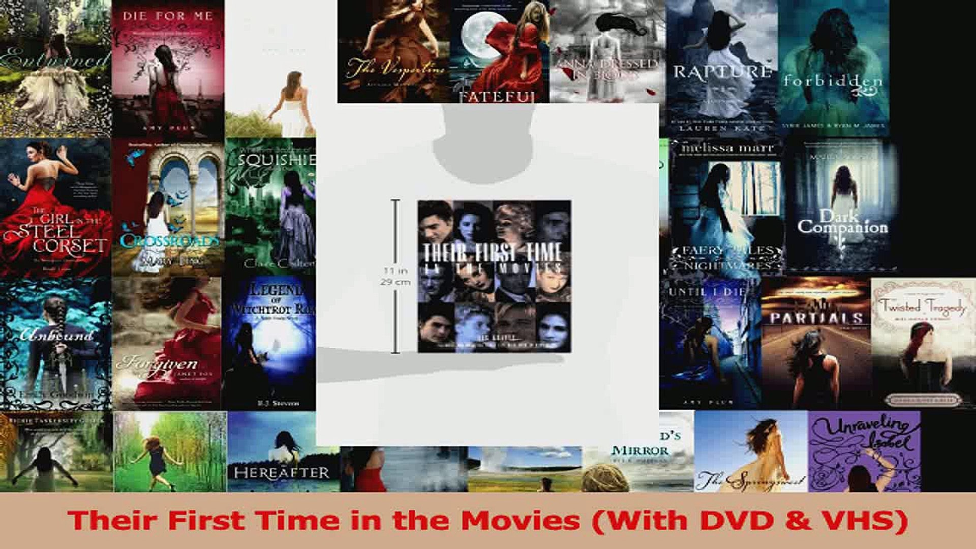 PDF Download  Their First Time in the Movies With DVD  VHS Download Online