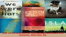 PDF Download  ICD10CM and ICD10PCS Coding Handbook with Answers 2016 Rev Ed PDF Full Ebook