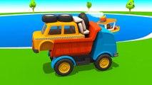 Leo der neugierige Lastwagen - Besuch von einem TAXI | Animation für Kinder