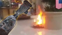 Texas mall evacuated after hoverboard catches fire