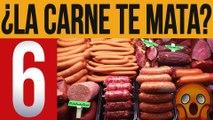 Las 6 maneras en las que la carne roja y procesada afecta tu salud