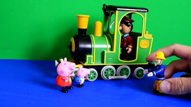 Fireman sam Fireman Sam Peppa pig Episode Greendale Train Postman Pat Play-doh Gorge Pig peppa pig