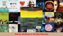 PDF Download  Percy Jacksons Greek Heroes PDF Online