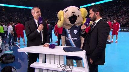 NIKOLA KARABTIC et VINCENT PARISI au HAND STAR GAME sur beiN Sports pour soutenir l'ASSOCIATION 1 MAILLOT POUR LA VIE.