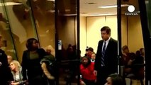 Chicago police officer pleads not guilty to gunning down black teen