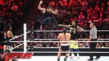 Dean Ambrose & The Usos vs. Sheamus, Rusev & King Barrett: Raw, December 28, 2015