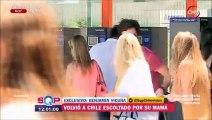 Benjamín Vicuña viajó a Chile SQP Chilevisión 28/12/2015