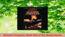 Download  Sharpes Company Book XIII of the Sharpe Series EBooks Online