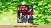 Download  John Carradine The Films EBooks Online
