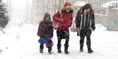 Samsun'da Okullara Kar Tatili