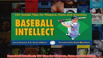 Baseball Intellect 101 Tips for Players Fans and Coaches