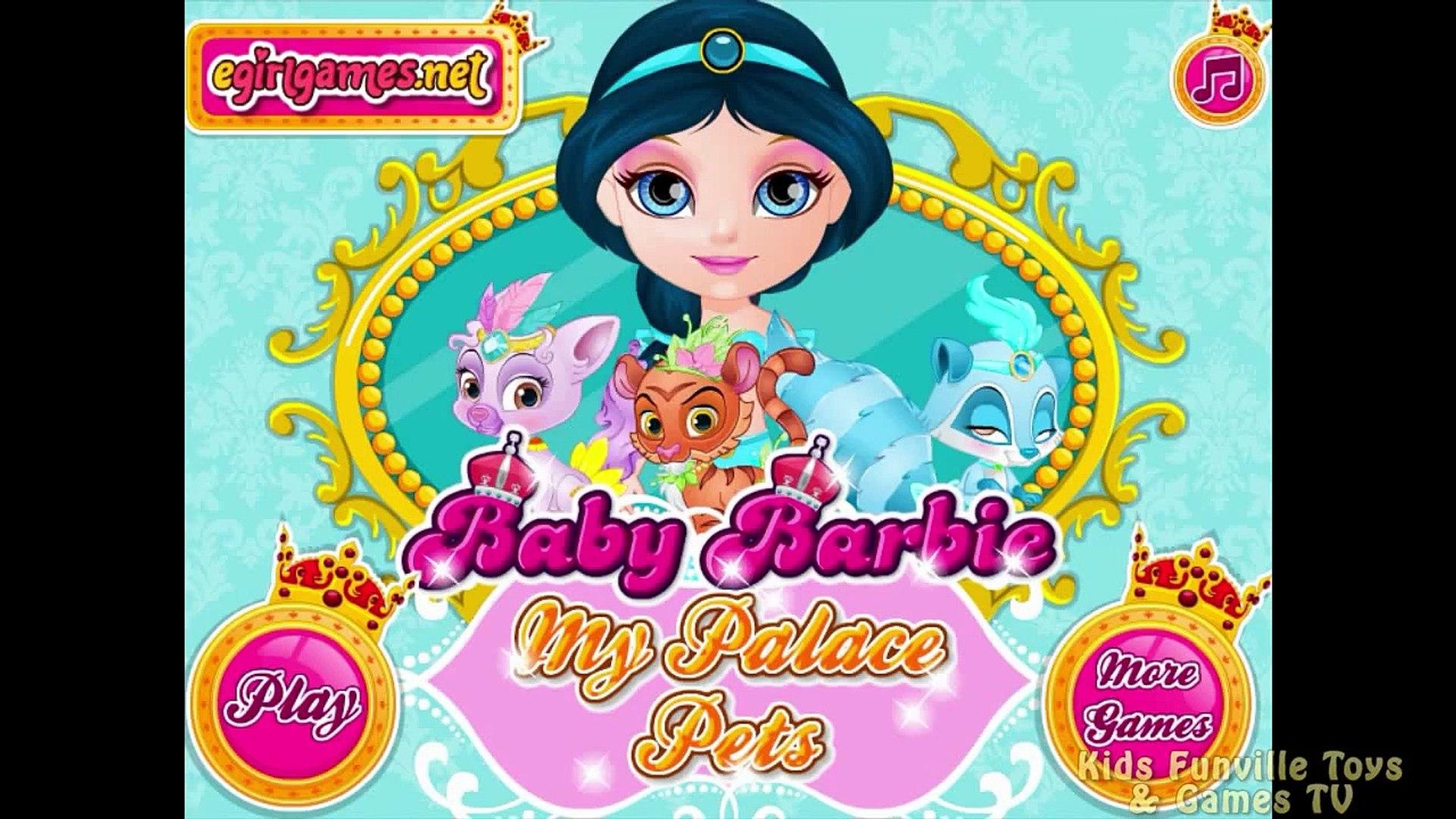 Baby Barbie Palace Pets Dora Baby Barbie Video Games Dora the Explorer