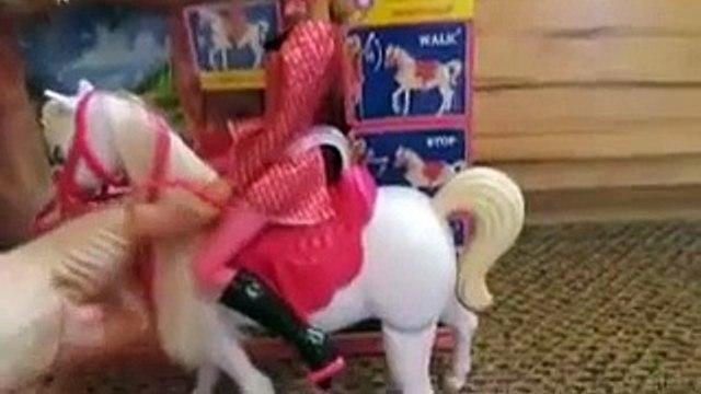 Anna DisneyCollector Frozen Toys Disney Barbie RC ride train horse Disney Barbie ride horse toy