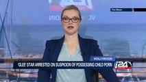'Glee' star arrested on suspicion of possessing child porn