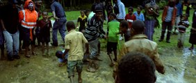 David Beckham Nutmegs a little boy in Papua New Guinea