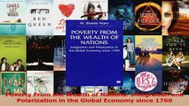 PDF Download  Poverty From the Wealth of Nations Integration and Polarization in the Global Economy Read Full Ebook
