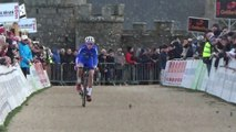 Coupe de France de cyclo-cross 2015 : L'arrivée des Juniors pour la 3e place à Flamanville
