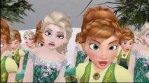 Elsa y Anna Frozen Fever Cancion DaDaDa Frozen canciones infantiles