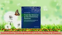 Read  From the Universe to the Elementary Particles A First Introduction to Cosmology and the Ebook Free