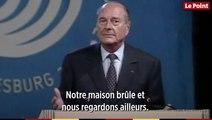 Les discours marquants du président Jacques Chirac