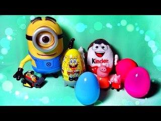 ✔ Шоколадные Яйца - Киндер Сюрприз. Друг всех детей - Губка Боб / SpongeBob SquarePants ✔
