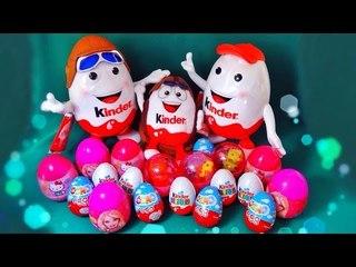 ✔ Шоколадные Яйца - Киндер Сюрприз. Распаковка - Кролик Багз Банни / Bugs Bunny Kinder Surpise ✔