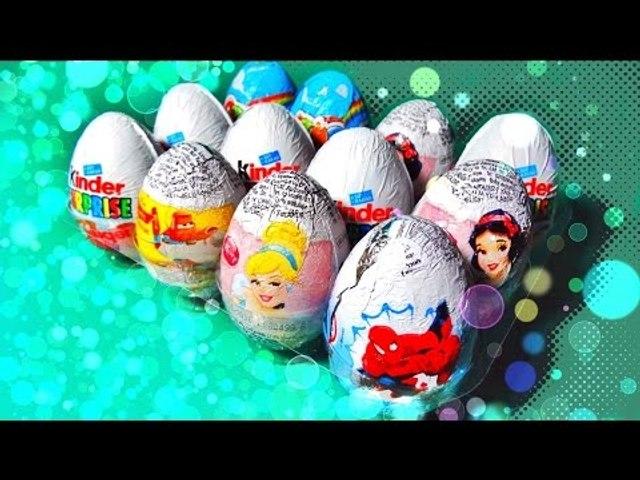✔ Шоколадные Яйца - Киндер Сюрприз. Все Серии Подряд. Сборник видео для детей / Kinder Surprise ✔