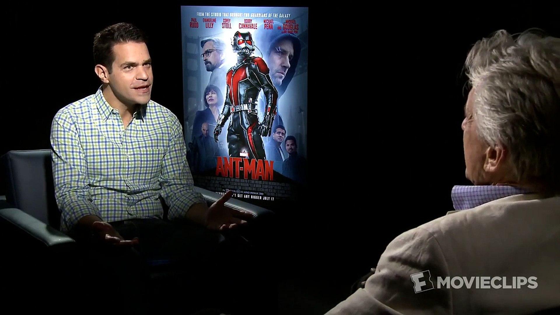 Ant-Man Interview HD | Celebrity Interviews | FandangoMovies