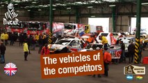 The vehicles of the competitors are boarding for South America! - 2016 Dakar - Off-race