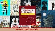 Download  Verkaufs einfach emotional So begeistern Sie Ihre Kunden Dein Business Ebook Online