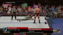 Stone Cold Steve Austin vs. Jake Roberts: WWE 2K16 2K Showcase walkthrough - Part 1